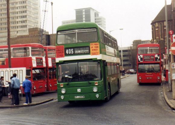 London Bus Routes | Route 405: Redhill - West Croydon ...