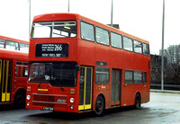 Route 266, London Transport, M1054, A754THV, Brent Cross