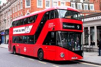 Route 9, London United RATP, LT80, LTZ1080, High Street Kensington