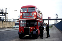 Route 23C, London Transport, RT1901, LLU809, Creekmouth