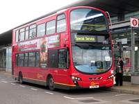 Route 541, Go Ahead London, WVL414, LX11CWV, Canning Town