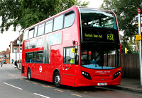 Route H32, London United RATP, ADE8, YX12FNO