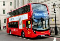 Route 22, Go Ahead London, EH75, YY66OYC, Hyde Park Corner