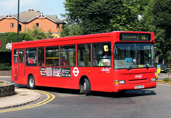 Route 112, Abellio London 8438, RX51FGN, Ealing Broadway