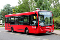 Route E5, First London, DMS44402, YX09FMC, Southall