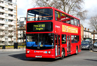 Route 115, Stagecoach London 17555, LY02OBG, Canning Town