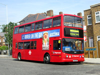 Route 522, Stagecoach London 18487, LX55BFF, Brockley Rise