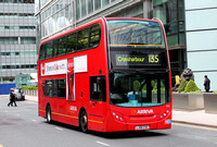 Route 135, Arriva London, T12, LJ08CVG, Canary Wharf