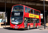 Route 541, Go Ahead London, WVL92, LF52ZND, Canning Town