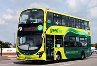 Route 702, Greenline 37986, BJ11ECY, Slough