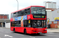 Route 49, London United RATP, SP127, YT59PBO, White City