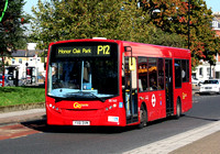 Route P12, Go Ahead London, SE162, YX61DVM, Peckham Rye