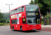 Route 92, First London, DN33766, SN12EHT, Ealing Hospital