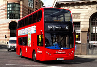 Route 8, Stagecoach London 12321, SK14CSZ, Bank