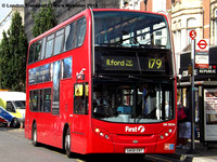 Route 179, First London, DN33574, SN58ENT, Ilford