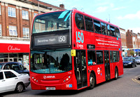 Route 150, Arriva London, T176, LJ60AUA, Barkingside