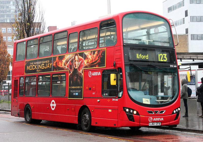 London bus routes route 123 ilford wood green for Time table bus 99