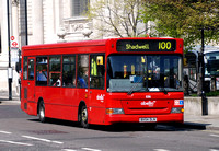 Route 100, Abellio London 8316, BX54DLN, St Paul's