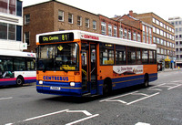 Route 81, Centrebus 105, P35MLE, Leicester