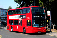 Route 229, Arriva London, T322, LK65ELC, Sidcup