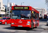 Route 100, Abellio London 8316, BX54DLN, Southwark