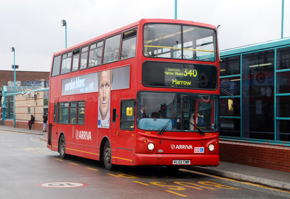 Route 340, Arriva The Shires 6003, KL52CWR, Edgware