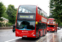 Route 452, Travel London 9420, LJ07OPF, Kensington