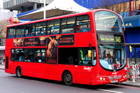 Route 343, Abellio London 9037, BX55XML, Elephant & Castle