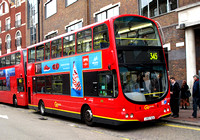 Route 345, Go Ahead London, WVL151, LX53BJU, Clapham Junction