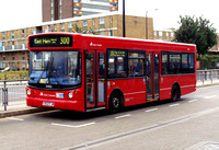 Route 300, East London ELBG 34302, Y302FJN, Canning Town