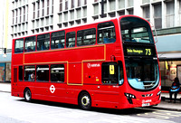 Route 73, Arriva London, DW434, LJ11ABK, Oxford Circus