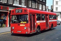 Route 227, London Transport, SMS818, JGF818K