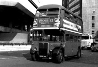 Route 53, London Transport, RT1907, LLU815, Westminster