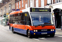 Route 27, Centrebus 353, MX05EKV, Loughborough