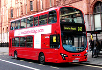 Route 242, Arriva London, DW202, LJ09SUO, Holborn Circus