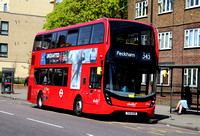 Route 345, Abellio London 2532, YX15OXB, Clapham Junction