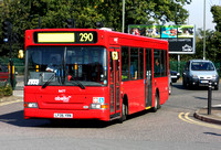 Route 290, Abellio London 8477, YR06YRN, Hampton