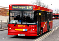 Route U5, First London, DMC41511, LK03NFZ, Uxbridge