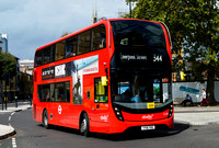 Route 344, Abellio London 2538, YY16YKE, St George's Circus
