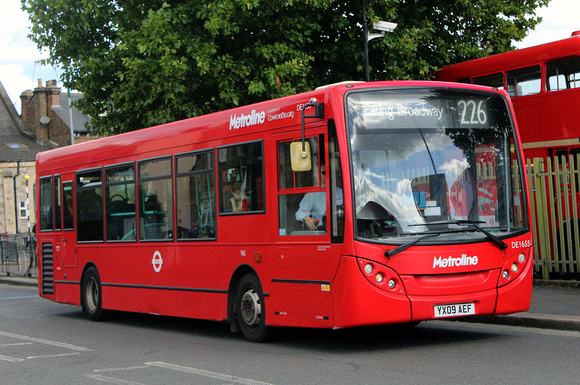 Route 226, Metroline, DE1655, YX09AEF, Willesden