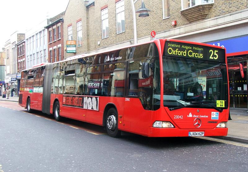 london bus routes route 25 ilford oxford circus route 25 east london elbg 23042 lk04kzp. Black Bedroom Furniture Sets. Home Design Ideas