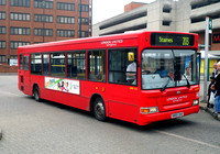 Route 203, London United RATP, DPS725, SN55DVU, Staines