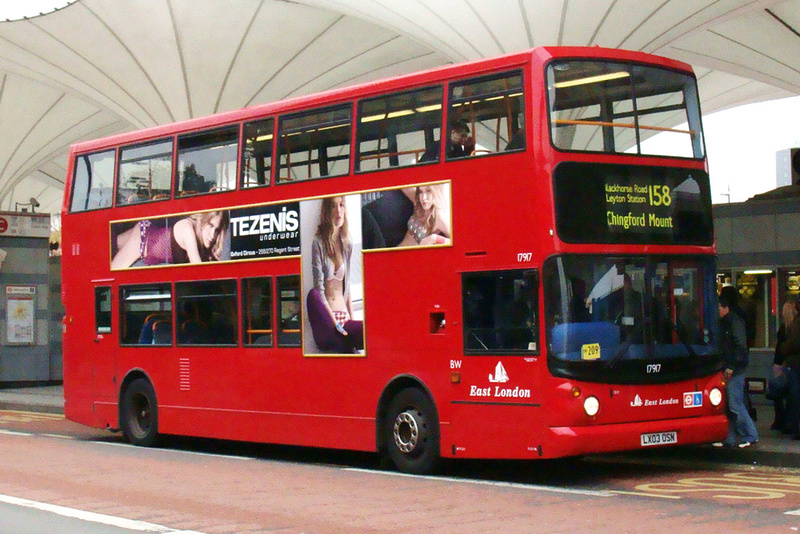 London Bus Routes Route 158 Chingford Mount Stratford