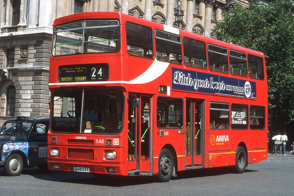 Route 24, Arriva London, VA148, G148TYT