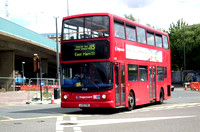 Route 115, Stagecoach London 17528, LX51FOM, Canning Town