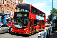 Route 85, Go Ahead London, WVL19, LG02KHU, Putney