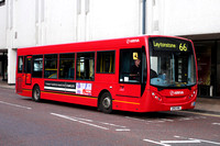Route 66, Arriva Southend 4070, GN10KWG, Romford