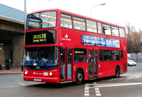 Route 330, East London ELBG 18265, LX04FZK, Canning Town