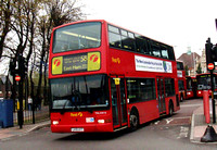 Route 58, First London, TNL33016, LK51UYT, Walthamstow