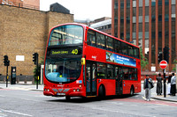 Route 40, Abellio London 9045, LF55CZA, Aldgate